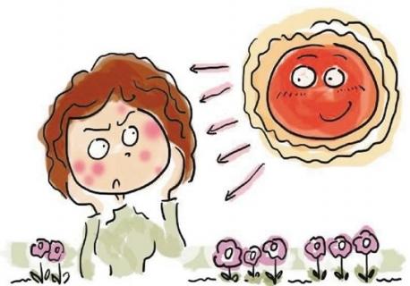 夏季要注意预防晒斑